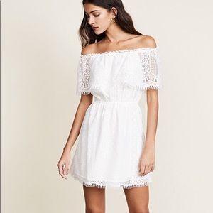 BB Dakota off the shoulder lace dress